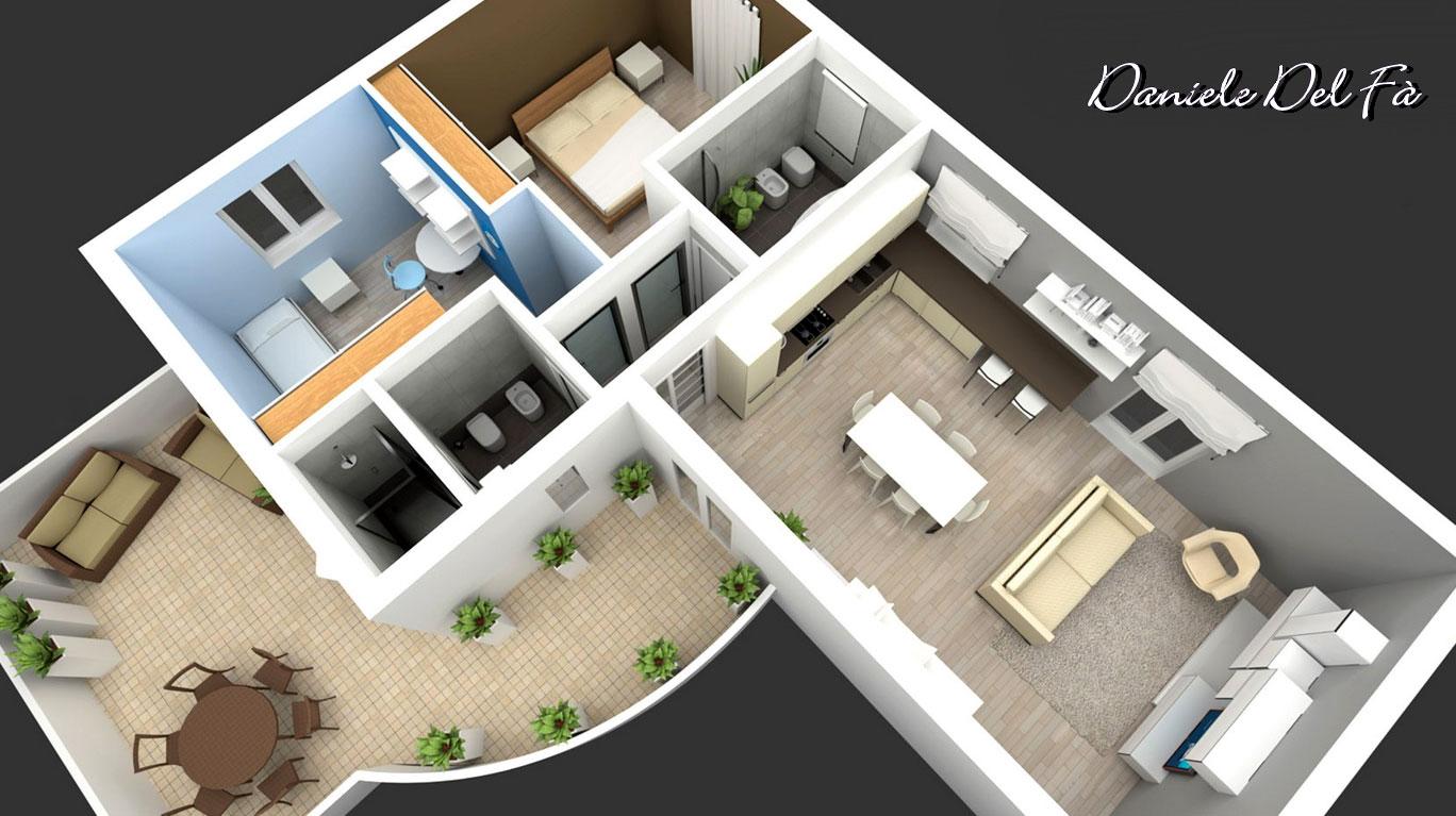 Daniele del f 9 le cucine for Sito web dove puoi costruire la tua casa